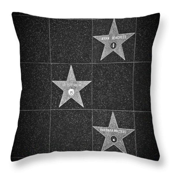 Stars Throw Pillow by Ralf Kaiser