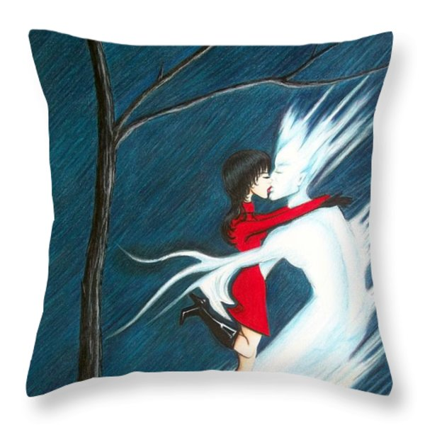 Stay Throw Pillow by Danielle R T Haney