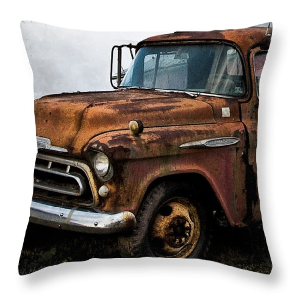 Still Going Throw Pillow by Bill Cannon