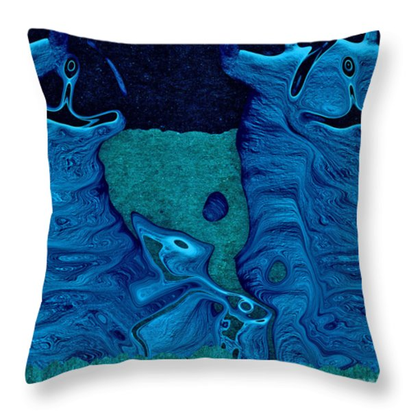 Stone Men 28c2b - Celebration Throw Pillow by Variance Collections