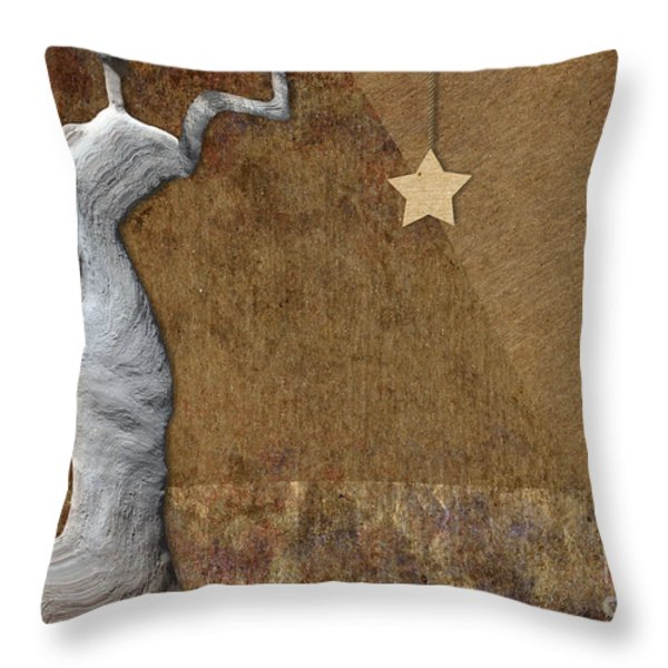 Stone Men 30-33 - Les Femmes Throw Pillow by Variance Collections