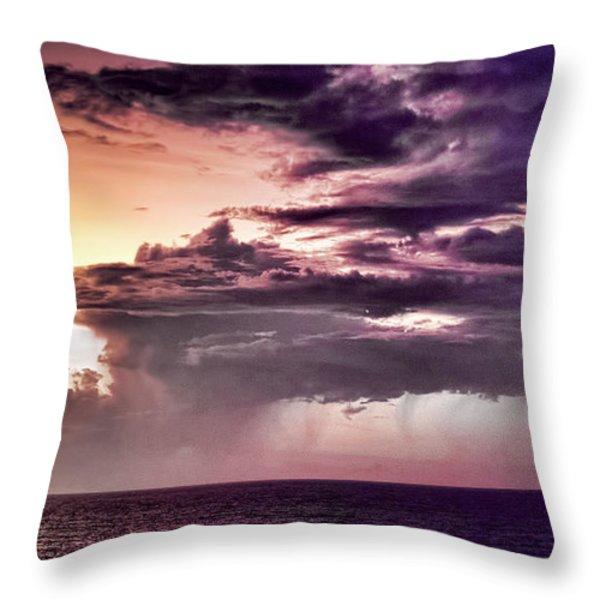 Stormy Weather Throw Pillow by Douglas Barnard