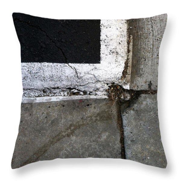 Streets Of La Jolla 4 Throw Pillow by Marlene Burns