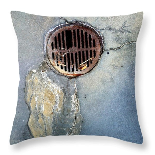 Streets Of La Jolla 7 Throw Pillow by Marlene Burns