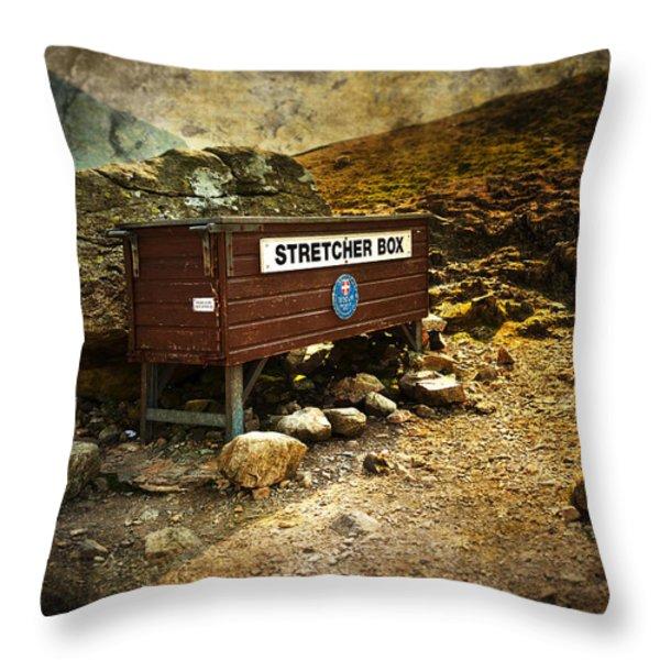 Stretcher Box Throw Pillow by Svetlana Sewell