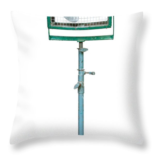 studio electric fan Throw Pillow by ATIKETTA SANGASAENG