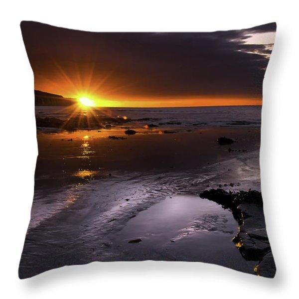 Stunning Sunrise Throw Pillow by Svetlana Sewell