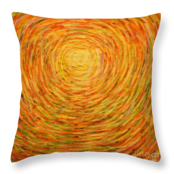 summer Throw Pillow by ATIKETTA SANGASAENG