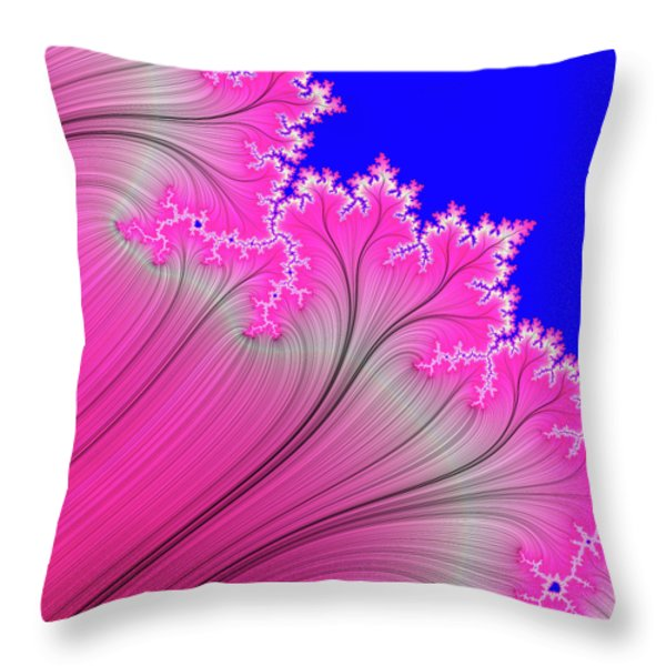 Summer Breeze Throw Pillow by Carolyn Marshall
