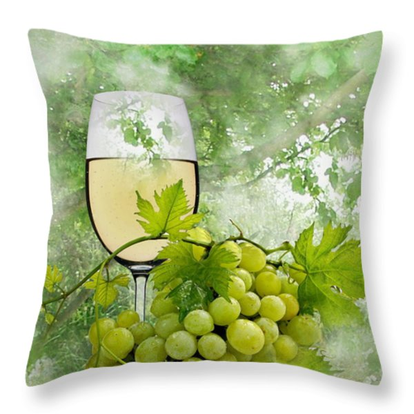 Summer Evening Throw Pillow by Manfred Lutzius
