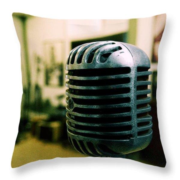 Sun Recordings Throw Pillow by JAMART Photography