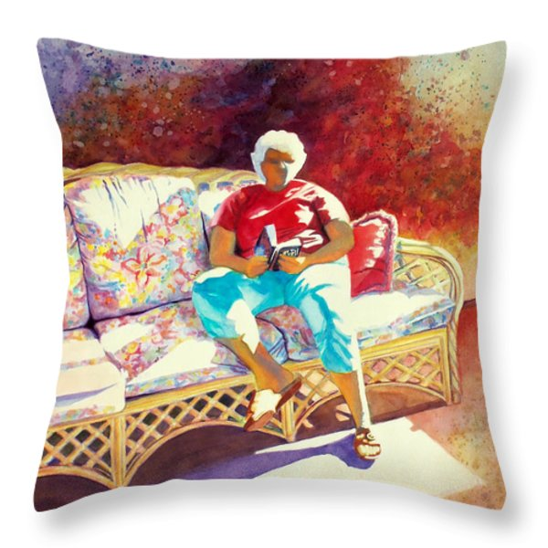 Sunny Retreat 3 Throw Pillow by Kathy Braud