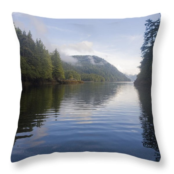 Sunrise In Haida Gwaii Throw Pillow by Taylor S. Kennedy