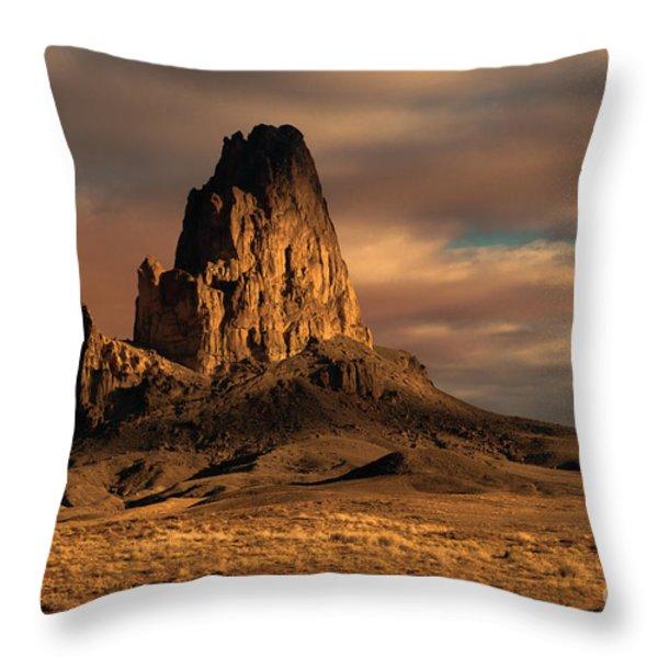 Sunrise On El Capitan Throw Pillow by Sandra Bronstein
