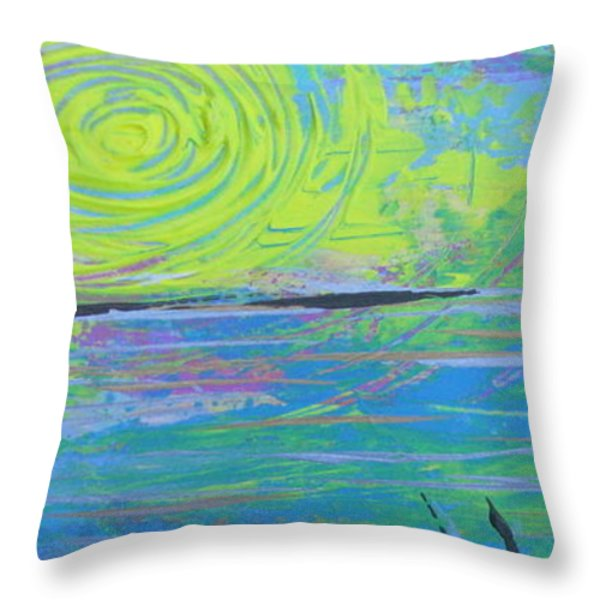 Sunrise Sunset 4 Throw Pillow by Jacqueline Athmann