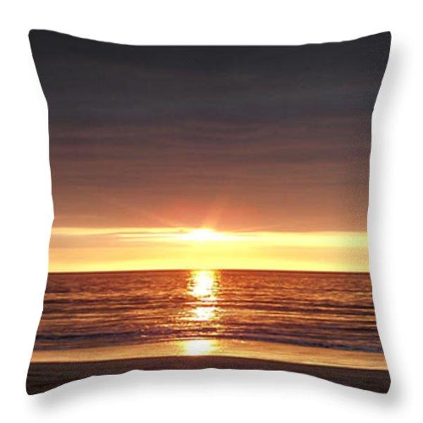 Sunset Throw Pillow by Gina De Gorna