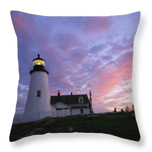 Sunset Tints The Sky Throw Pillow by Stephen St. John