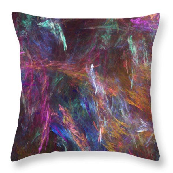 Surtido Throw Pillow by RochVanh