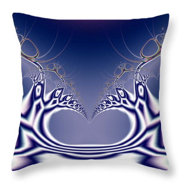 Swan Lake Ballet . S7 Throw Pillow by Wingsdomain Art and Photography
