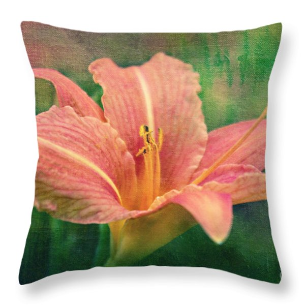 Sweet Lilith Throw Pillow by Angela Doelling AD DESIGN Photo and PhotoArt