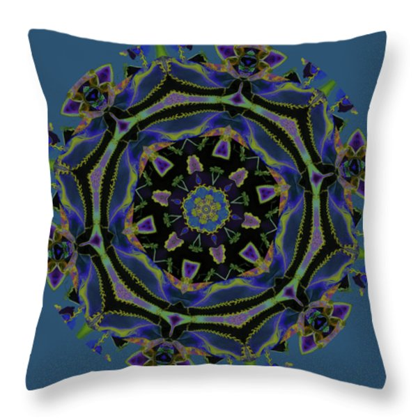 Sweet Memories Throw Pillow by Bonnie Bruno