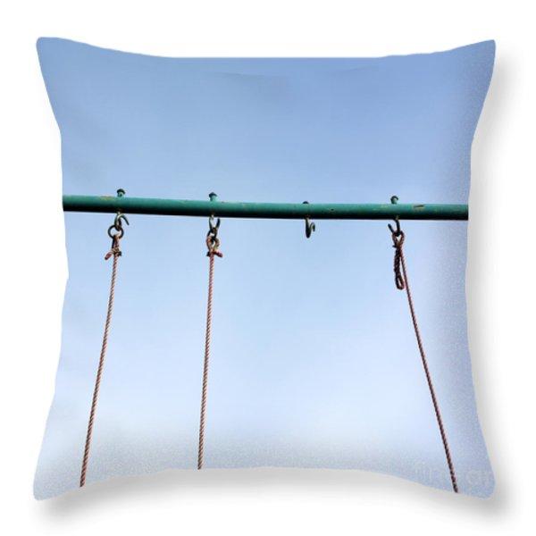 Swing Throw Pillow by BERNARD JAUBERT