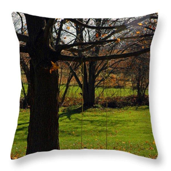 Swing With Me Throw Pillow by LeeAnn McLaneGoetz McLaneGoetzStudioLLCcom