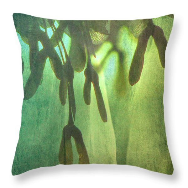 Symphony Throw Pillow by Amy Tyler