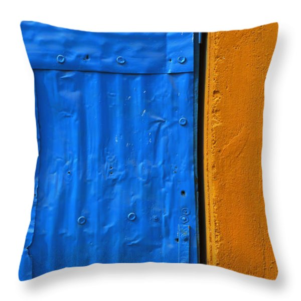 Tagged Throw Pillow by Skip Hunt
