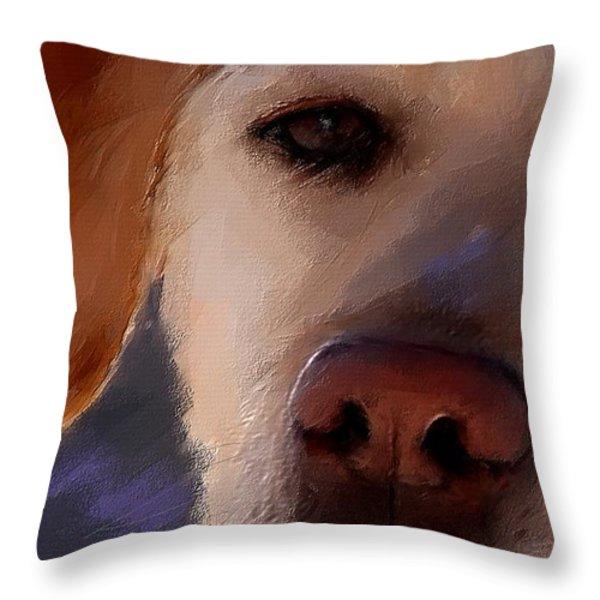 Take Me Throw Pillow by Robert Smith