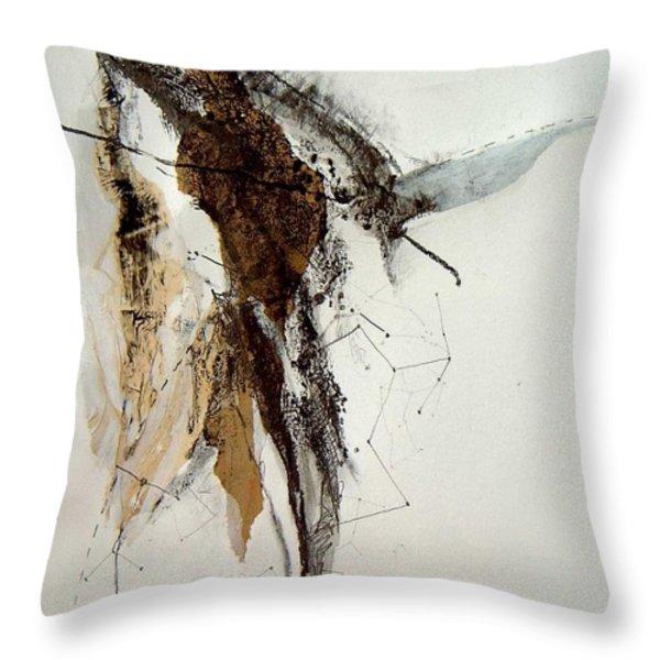 Taurus Throw Pillow by Brenda Ullrich