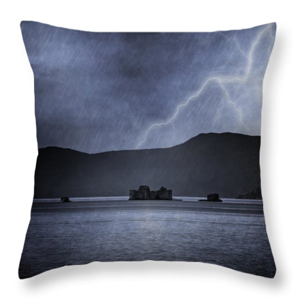 Tempest Throw Pillow by Joana Kruse