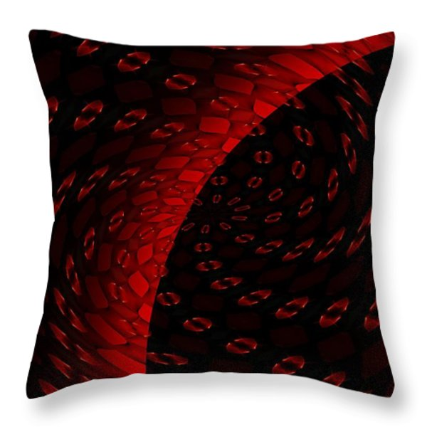 Ten Minute Art 1 Throw Pillow by David Lane