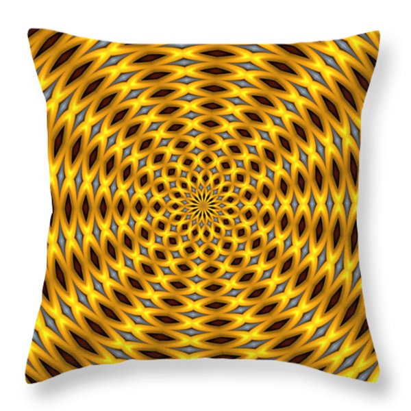 Ten Minute Art 2 Throw Pillow by David Lane