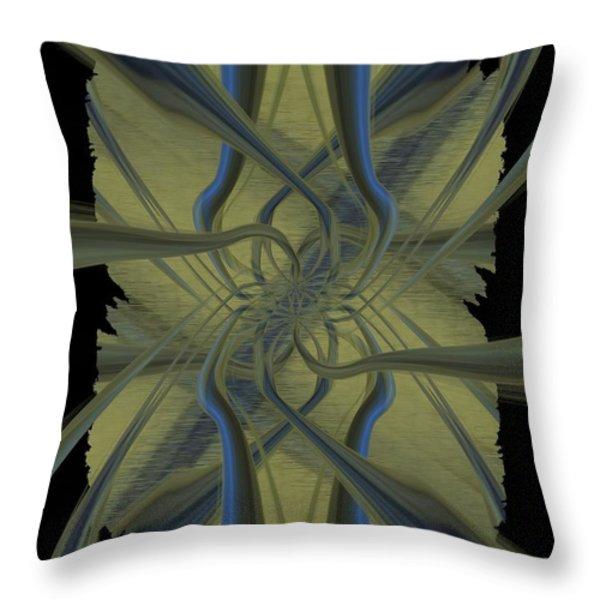 Tendrils Throw Pillow by Tim Allen