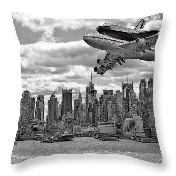 Thanks for the Show Throw Pillow by Susan Candelario