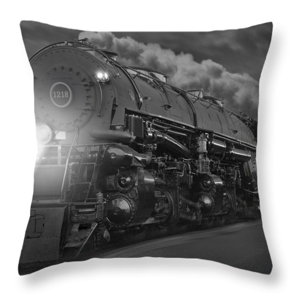 The 1218 On The Move Throw Pillow by Mike McGlothlen
