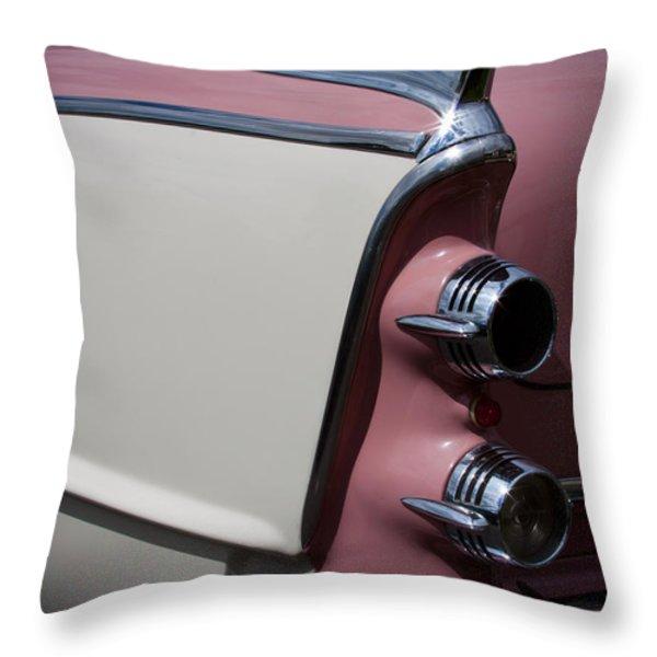 The 1955 Dodge Royal Lancer Sedan Throw Pillow by David Patterson