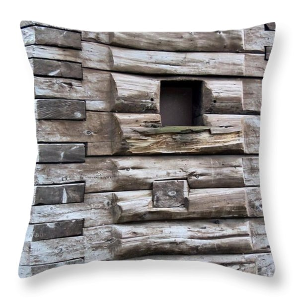 The Art Of Wood 3 Throw Pillow by Randall Weidner