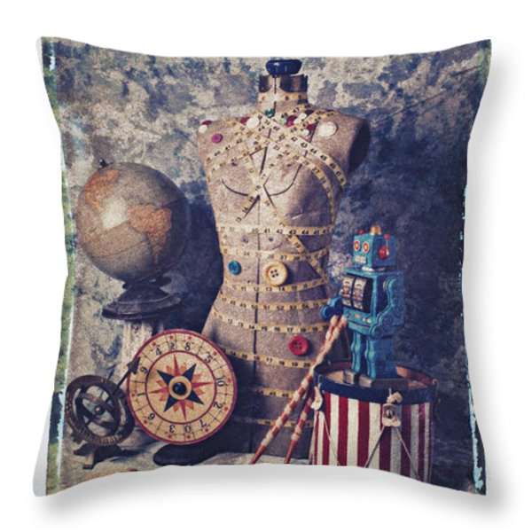 The Attic Throw Pillow by Garry Gay