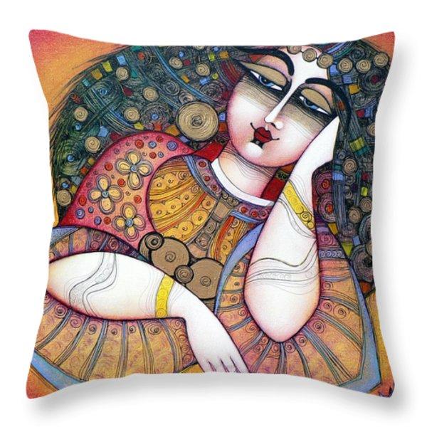 the beauty Throw Pillow by Albena Vatcheva