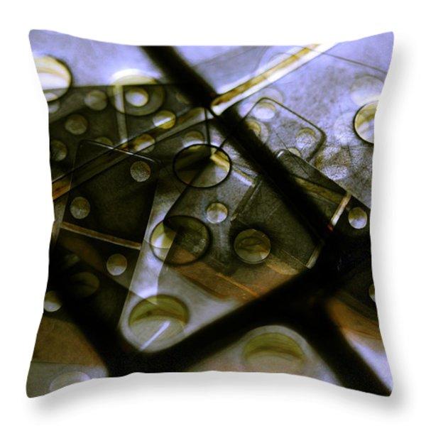 The Bone Pile Throw Pillow by Judi Bagwell