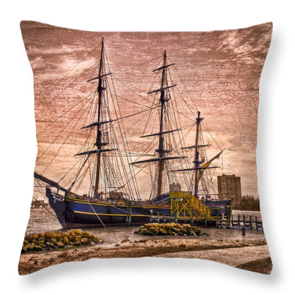 The Bounty Throw Pillow by Debra and Dave Vanderlaan