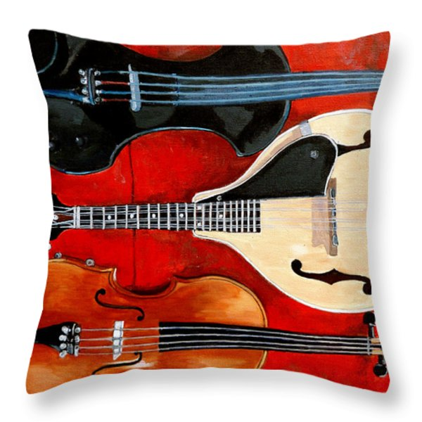 The Boys Throw Pillow by Tom Roderick
