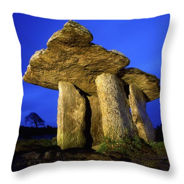 The Burren, County Clare, Ireland Throw Pillow by Richard Cummins