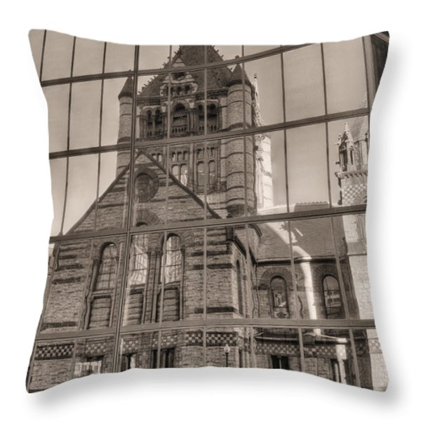 The Church Throw Pillow by JC Findley