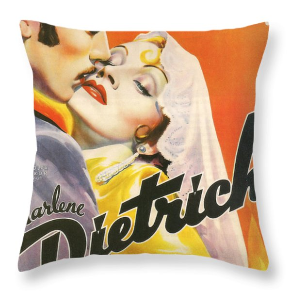 The Devil Is A Woman Throw Pillow by Nomad Art And  Design
