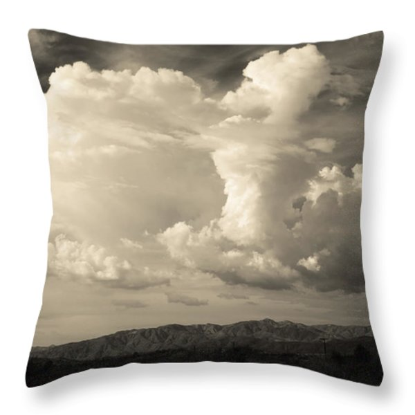 The Drama Throw Pillow by Laurie Search