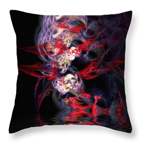 The Dream Throw Pillow by Wayne Bonney
