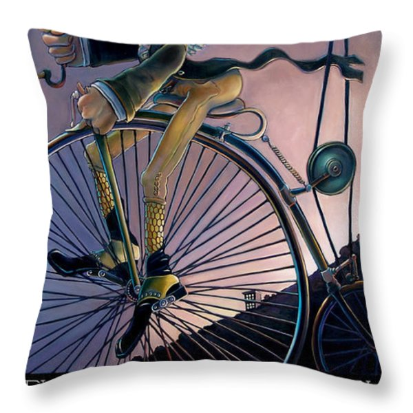 THE DREAMSMYTH Throw Pillow by Patrick Anthony Pierson